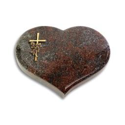 Coeur/Orion Kreuz/Rose (Bronze)