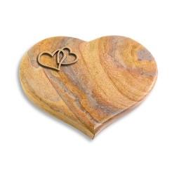 Coeur/Paradiso Herzen (Bronze)