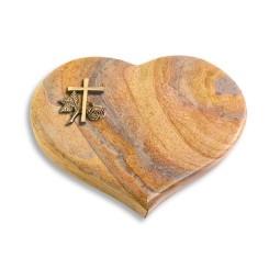 Coeur/Paradiso Kreuz 1 (Bronze)