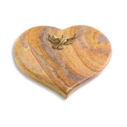 Coeur/Paradiso Taube (Bronze)