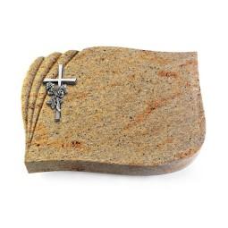 Eterna/Indisch-Impala Kreuz/Rose (Alu)