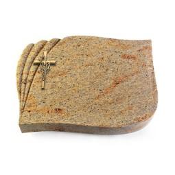 Eterna/Indisch-Impala Kreuz/Ähren (Bronze)
