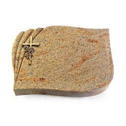 Eterna/Indisch-Impala Kreuz/Rose (Bronze)