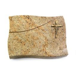 Firenze/Himalaya Kreuz/Ähren (Bronze)