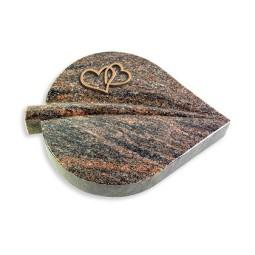 Folia/Aruba Herzen (Bronze)