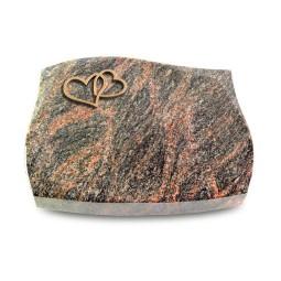 Galaxie/Aruba Herzen (Bronze)