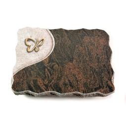 Barap Folio Kreuz/Rose (Bronze)
