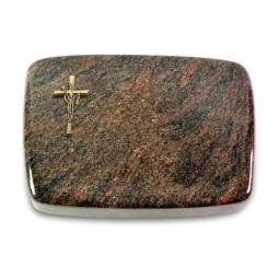 Linea/Aruba Kreuz/Ähren (Bronze)