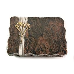 Barap Strikt Kreuz/Rose (Bronze)