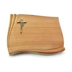 Memory/Rainbow Kreuz/Ähren (Bronze)