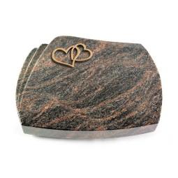 Paris/Aruba Herzen (Bronze)
