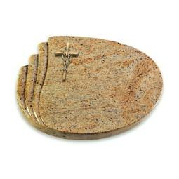 Waves/Himalaya Kreuz/Ähren (Bronze)