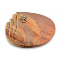 Waves/Paradiso Baum 3 (Bronze)