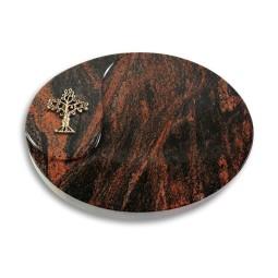 Yang/Indisch-Impala Baum 2 (Bronze)