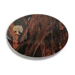 Yang/Indisch-Impala Baum 3 (Bronze)