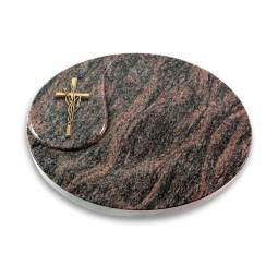 Yang/Aruba Kreuz/Ähren (Bronze)