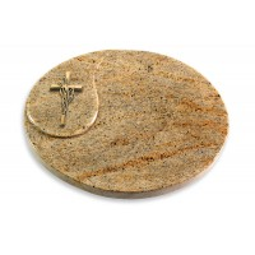 Yang/Indisch-Impala Kreuz/Ähren (Bronze)