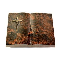 Livre/New Kashmir Kreuz/Ähren (Bronze)