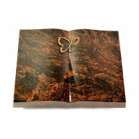 Livre/New Kashmir Papillon (Bronze)