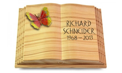 Livre Pagina/Woodland mit Color-Bronze-Ornament